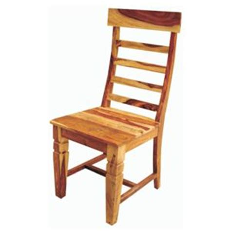 jaipur furniture tahoe rustic ladder back dining chair