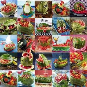 watermelon carvings wonderful watermelon ideas pinterest