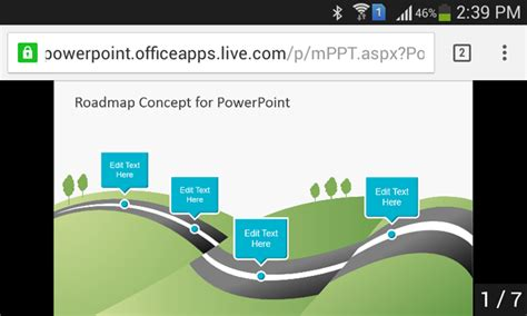 ppt templates for android project presentation how to open a powerpoint presentation on android