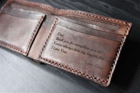 Handmade Mens Gifts - s leather wallet personalized leather wallet