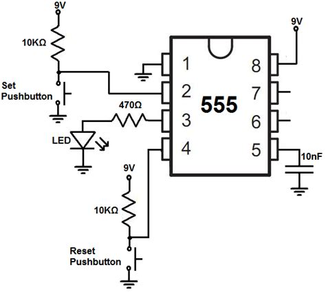 transistor restart how to build a 555 timer bistable circuit