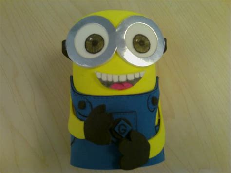 Pensil Minion diy minion pencil holder home and diy diy and crafts minions and pencil