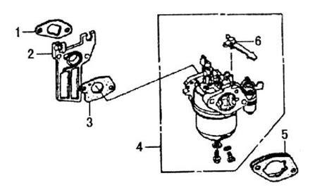honda gx200 carburetor diagram honda gx200 parts