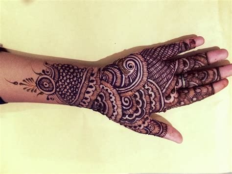 how to design a simple indian engagement mehndi 12 steps simple easy indian full hand mehndi design 2016