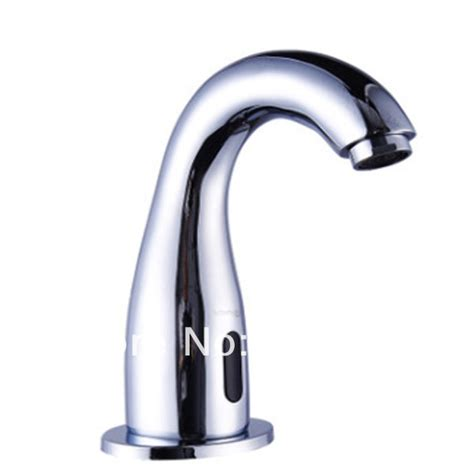 Faucet Water Saver single touchless faucet water saver sensor in basin faucets from home garden on