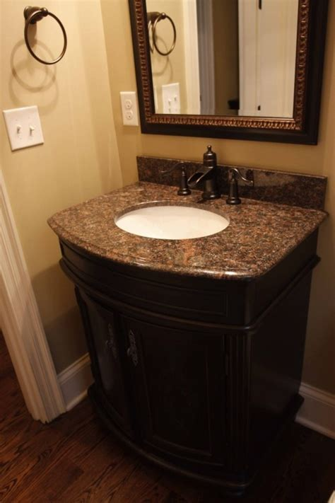 Powder Bath Vanity Powder Bath Ideas This Vanity Decor House