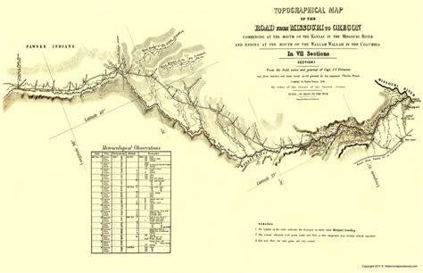 map of oregon trail through kansas ortr0001 a jpg