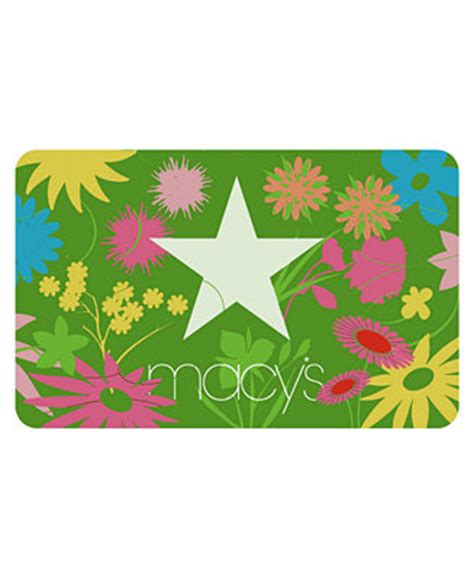 Gift Card Macy S - macys star flowers gift card with letter gift cards macy s