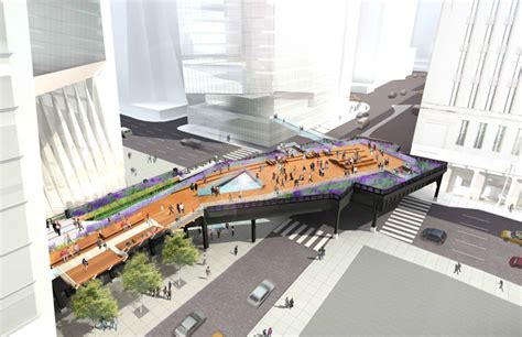 Section 3 Ny by Designs Unveiled For The Section Of The High Line