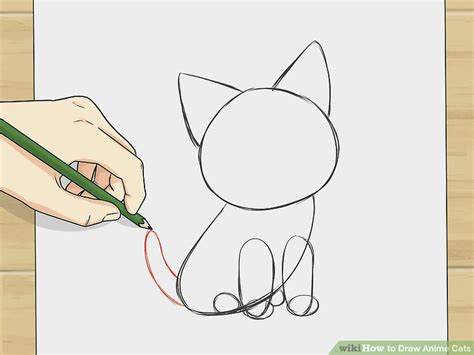 how to a not to cats how to draw anime cats 6 steps with pictures wikihow