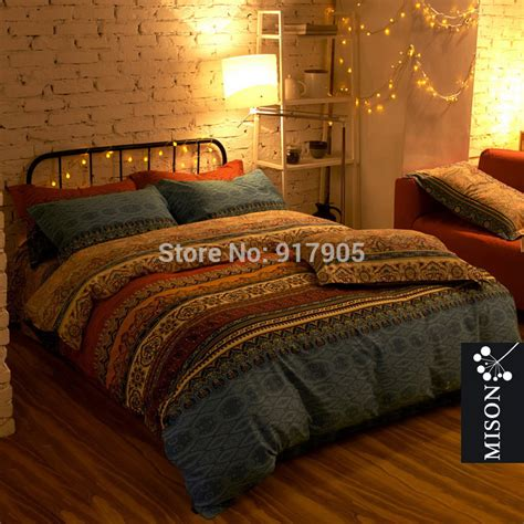 fashion bohemian comforter bedding sets luxury boho