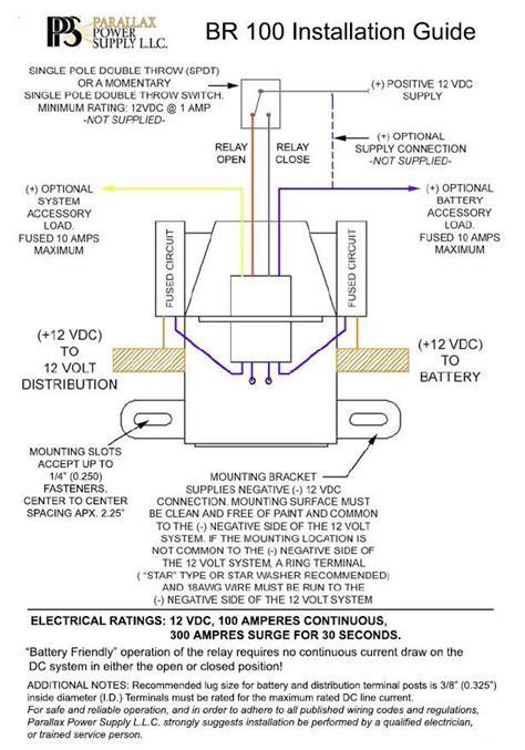 12 volt battery disconnect wiring diagram wiring diagram