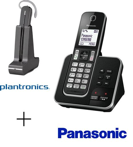 panasonic cordless phone wireless headset package