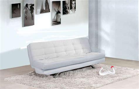 divano letto ecopelle bianco divano letto eleonora 192x87 bianco nero ecopelle 3 posti