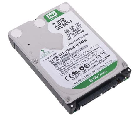 Wdc 4tb Green 3 5 Quot western digital wd20npvx drive notebook drives 2tb 5 4k