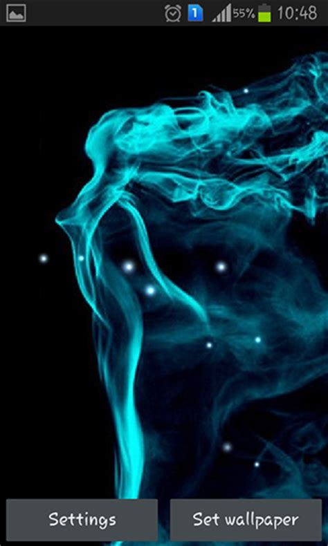 neon smoke  wallpaper  android neon smoke