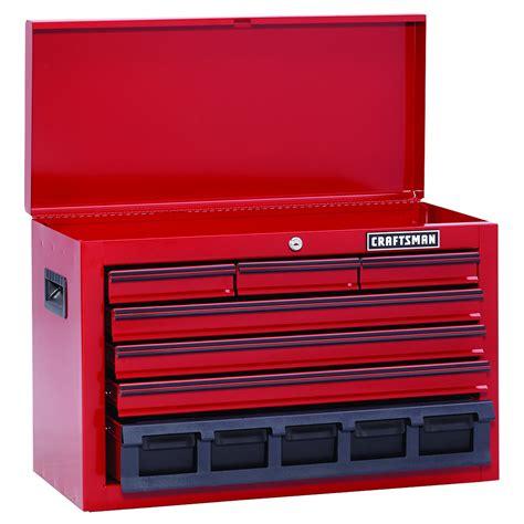 craftsman 7 drawer tool chest craftsman 115351 26 in wide 7 drawer homeowner top