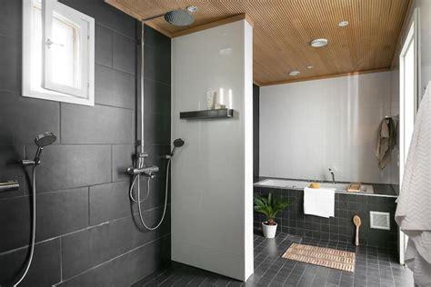 Scandinavian modern black and white interior design   Hall