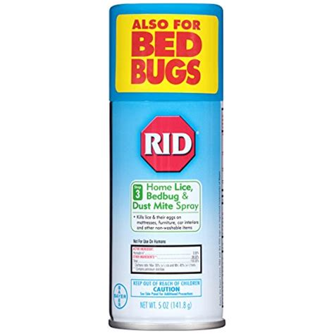 rid home lice spray step 3 for bedding and