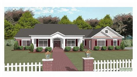 one story country house plans simple one story houses one