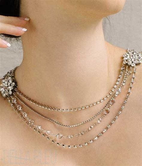necklace that drapes down the back 17 best images about couture necklaces on pinterest