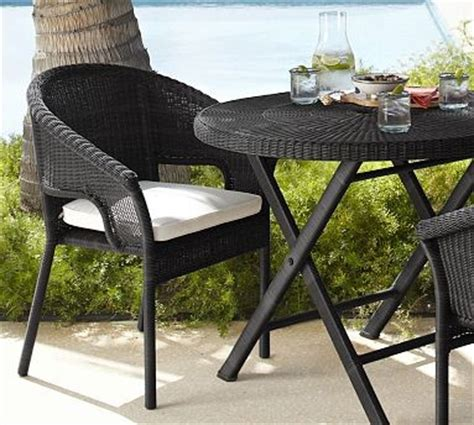black wicker stacking chairs palmetto all weather wicker stacking chair black
