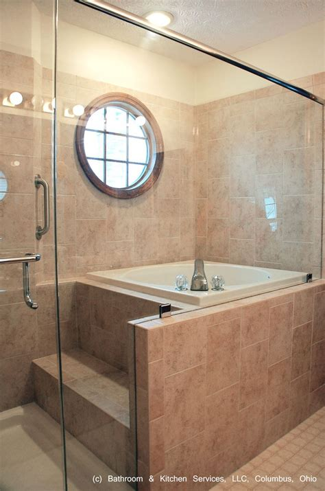 japanese style shower and soaking tub bathrooms for