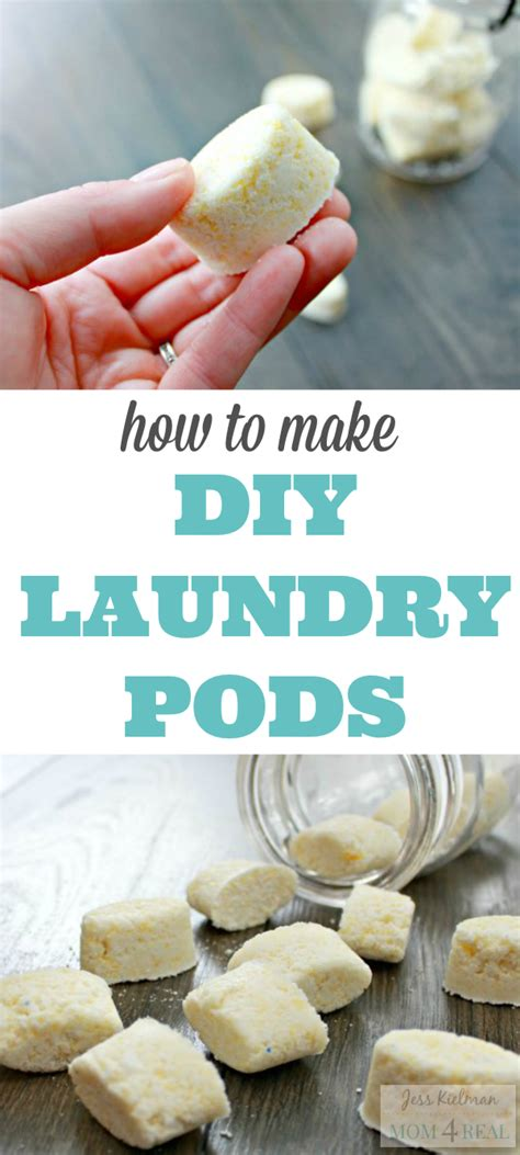 How To Make Your Own Laundry Pods Mom 4 Real How To Make A Laundry