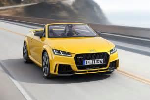 Audi Tt Rs Convertible 2017 Audi Tt Rs Convertible Widescreen Wallpaper Hd Car