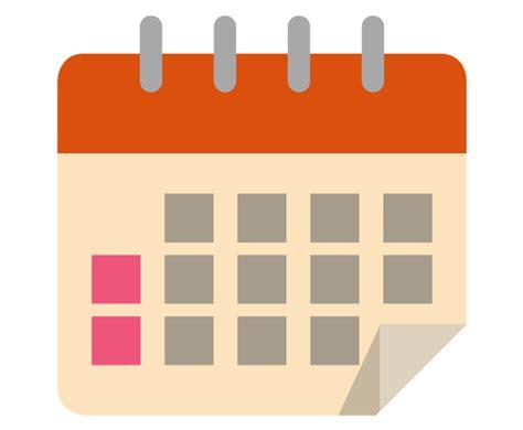 clipart calendario calendar clipart graphic png pencil and in color