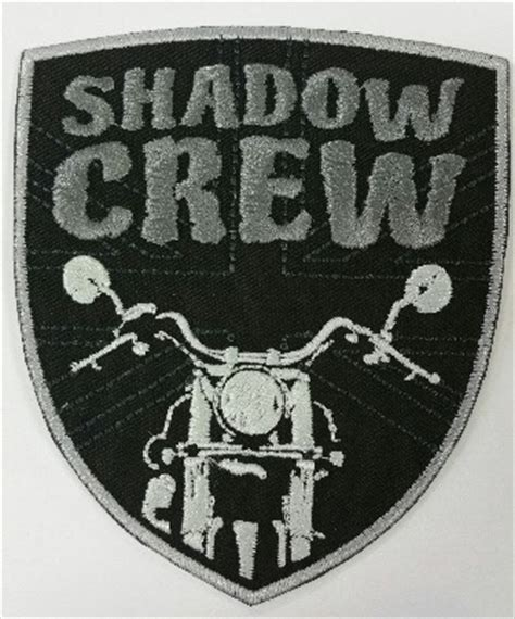 Patch Tbc Logo patches badges club merchandise shadow crew