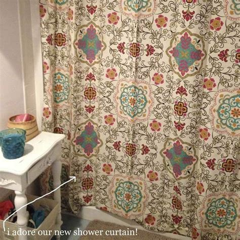 bohemian shower curtains cute new bohemian shower curtain for the home pinterest