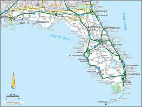 florida map image a florida road map makes your florida backroads travel