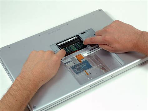 Macbook Pro A1150 macbook pro 15 quot duo model a1150 ram replacement ifixit