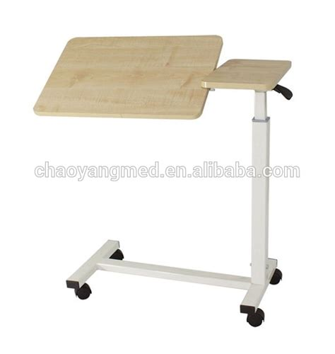 Bedside Tray Table by Hospital Rolling Wooden Bed Table Hospital Bedside Tray Table Adjustable Bedside Table Cy