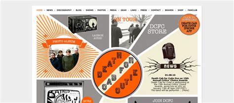 design magazine vintage 50 creative exles of vintage and retro in web design