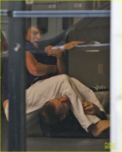 margot robbie jiu jitsu ashton kutcher promoted to bjj purple belt by rigan machado