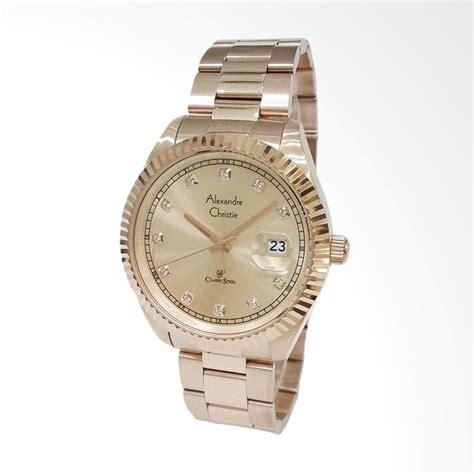 Jam Tangan Alexandre Christie 6416mclipba Pria jual alexandre christie jam tangan pria rosegold 5003 harga kualitas terjamin
