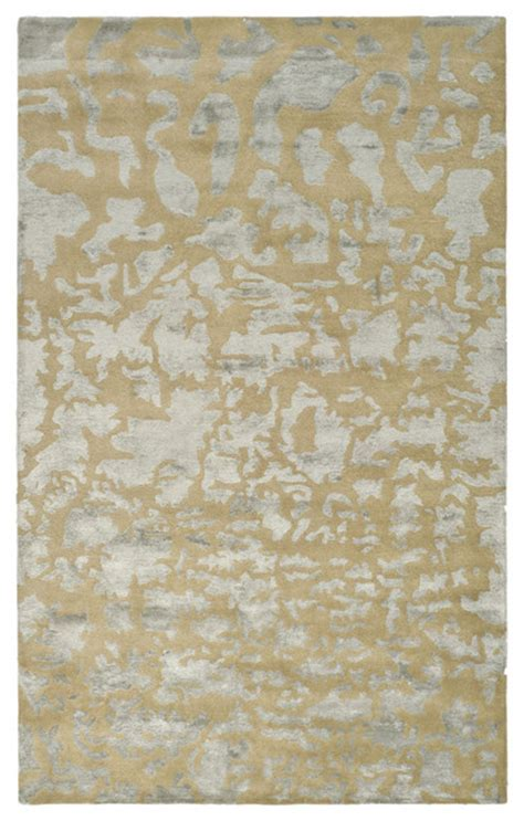 gold and silver modern rug from safavieh