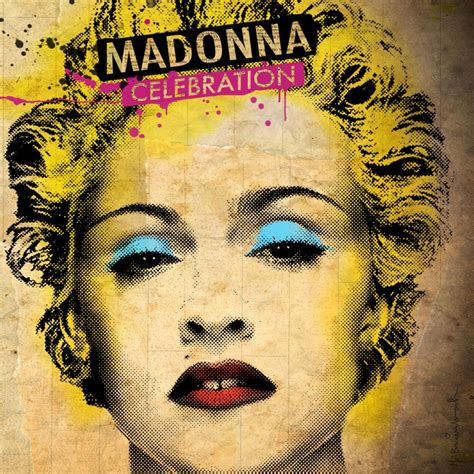 Cd Madonna madonnalicious celebration album cover