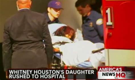 whitney houston daughter found in bathtub whitney houston death daughter bobbi kristina rushed to
