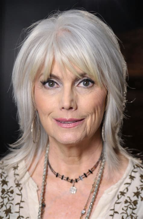 grey hair on mid length hair photos of gorgeous gray hairstyles emmylou harris