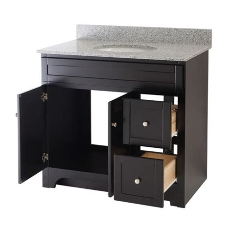 Worthington 36 Inch Espresso Bathroom Vanity Burroughs Bathroom Vanity Espresso
