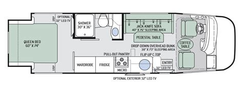 class b floor plans class b rv floor plans pictures to pin on pinterest page 7