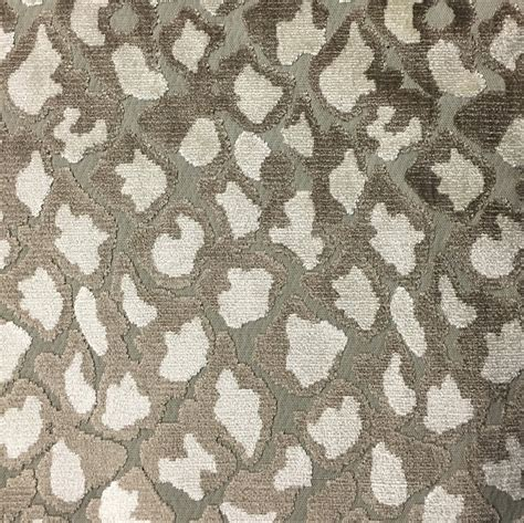 pattern fabric by the yard hendrix leopard pattern cut velvet upholstery fabric by
