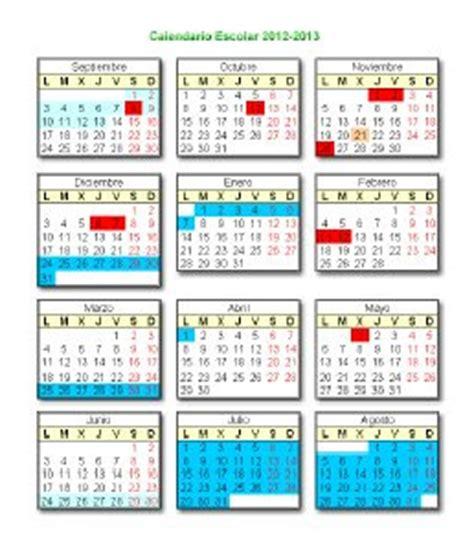 Calendario Escolar Castilla Y 2012 13 Recursos Educativos De Educaci 243 N Infantil Calendario
