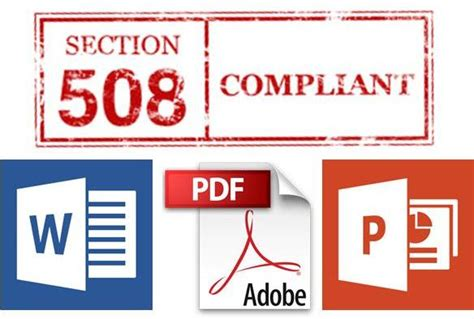 what is section 508 compliance 508 document remediation accessibility compliance