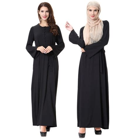 Syari Maxi Maxy Dress Gamis Muslim muslim sleeve jilbab formal cocktail abaya islamic maxi dress s 3xl ebay
