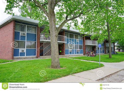 uiuc housing uiuc family housing stock photo image 55275146