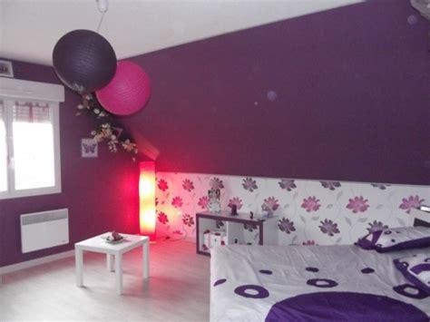 chambre prune blanc et fushia 6 photos vanessa1380